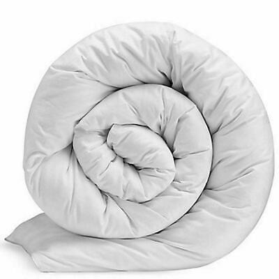 """4.5 3/' SINGLE /""""CASH SAVER/"""" COROVIN DUVET QUILT Hollow Fibre All Sizes and Togs"""