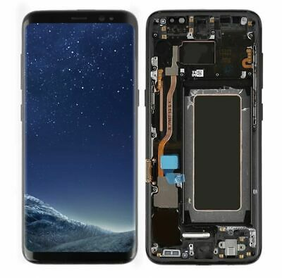 US For Samsung Galaxy S8 G950A G950U G950F LCD Display Touch Digitizer Frame (C)