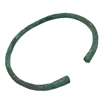 Ancient Norse Viking Torc Bracelet - Ca 800-1100 AD - Brass Artifact Antiquity -