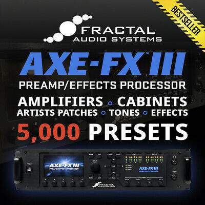 quality presets ✪ Fractal AXE FX 3 The Artists Collection v2.0 ✪ 1,500