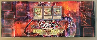 Yu Gi Oh Dinosmasher S Fury Structure Deck X3 Ul Sealed Packs W Mat No Boxes 27 25 Picclick