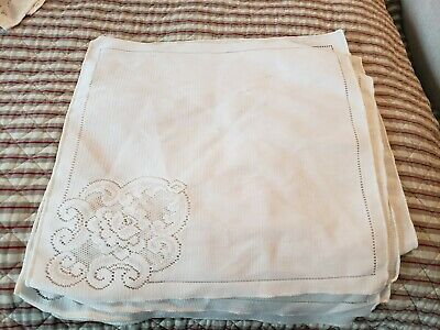 Variety of 50 cotton/Linen Napkins Clean nice condition