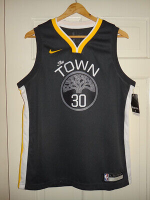 STEPHEN CURRY NIKE Swingman Chinese New Year Jersey The Bay