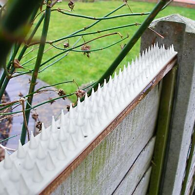 10 x Fence Wall Spikes Anti Climb Security Spike Cat Birds Repellent Deterrent