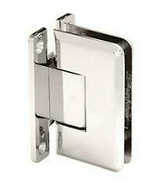 CRL Cologne 037 Brushed Nickel Wall Mount Hinge COL037BN
