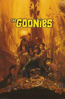 THE GOONIES MOVIE POSTER, USA Version A (Size 24 x 36)