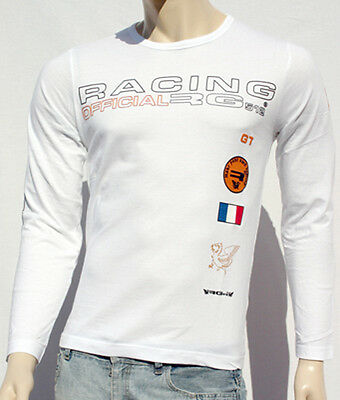 T-SHIRT HOMME RG512 NEUF BLANC TAILLE S EXPEDITION EXPRESS EN COLISSIMO INCLUS