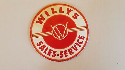 "CLASSIC VW BUS GERMAN CAR SIGN PORCELAIN ENAMEL CLASSIC EMAILLE 4/""x8/"" =20x10cm"
