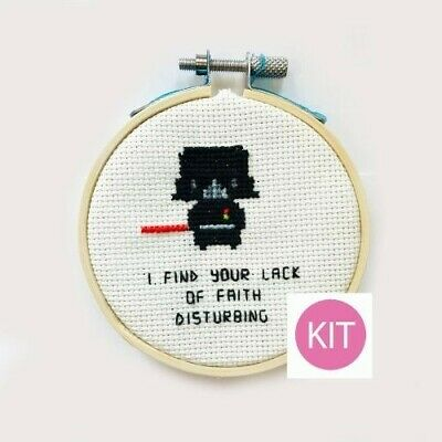 "Dimensions Star Wars Counted Cross Stitch Kit 9/""X12/"" Darth Vader  088677353810"