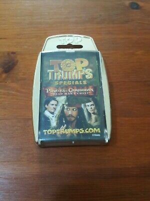 Pirates of the Caribbean Dead Man/'s Chest.Free 1st cl p/&p Top Trumps Specials
