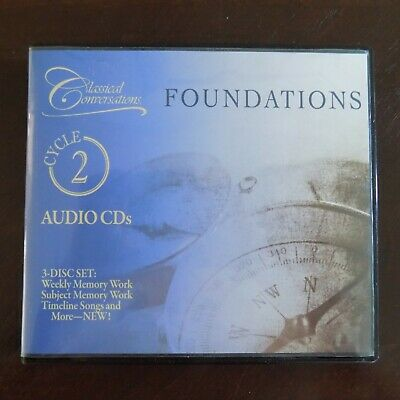 Classical Conversations Foundations Cycle 2 Audio Cds 3 Disc Set Memory Work 24 99 Picclick