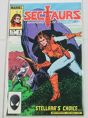 NM Sectaurs #6 May 1986 Marvel Comic Book