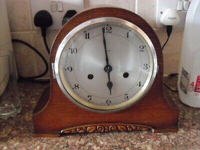 option of ONE of 2 chiming 1930s/40s mantle clocks (2 available)now £50
