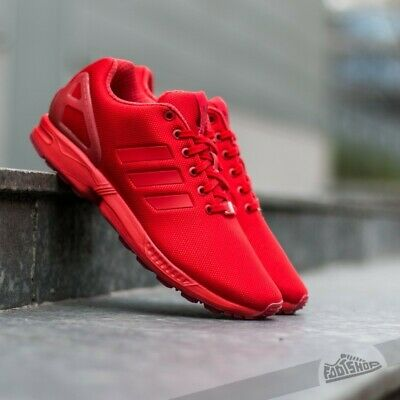 zx flux adidas triple red