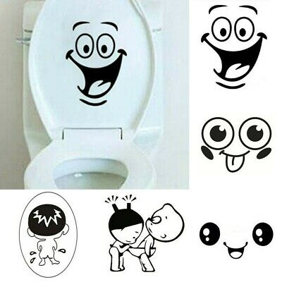 Removable 3D Toilet Seat WC Bathroom Wall Sticker Home Decor DIY Decal HO3