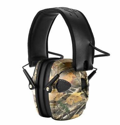 Electronic Ear Defenders Shooting Hunting Earmuffs Ear Muff Camo 22Db