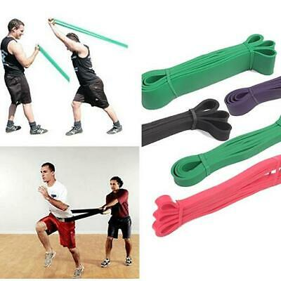 Gym Yoga Pull Up Resistance Body Stretching Band Loop Power Exercise Fitness Hot