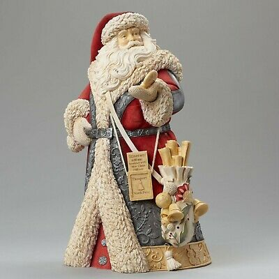 Heart of Christmas Masterpiece Santa with Compass 4046824 Figurine Gift Boxed