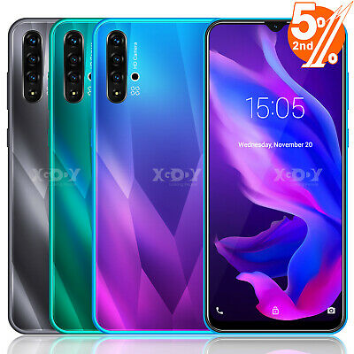 6.6 In A50 Android 9.0 Cell Phone Factory Unlocked Smartphone Dual SIM Quad Core