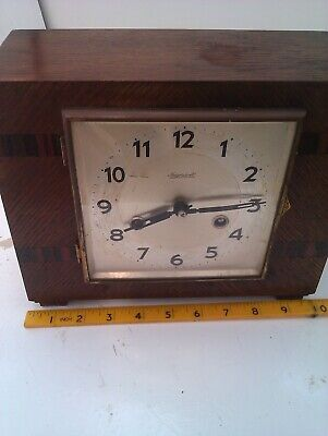 A Lovely Deco Looking Clock In Full Working Order
