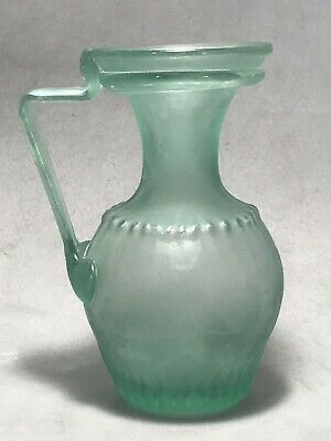 ANCIENT Roman Antique Blown Glass Pitcher Bottle Circa 200-300 AD amphoriskos