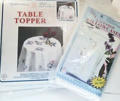 """Jack Dempsey Stamped Table Runner//Scarf 15/""""X42/"""" Halloween 013155348750"""