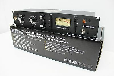 Revive Audio Modified: Klark Teknik 1176-Kt, 1176 Mono Fet Compressor!