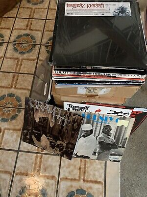 Vinyl Record Box Lot Of 10 Records 90s 2000s Hip Hip RnB pop House Trance