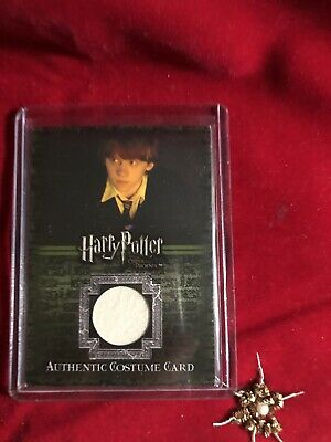 Harry Potter and the Order of the Phoenix Costume Card - Ron VARIANT Artbox Card