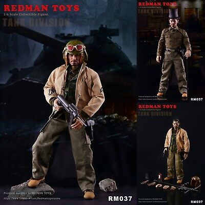 Fat Belly Insert Redman Action Figures 1//6 Scale Fury Tank Division
