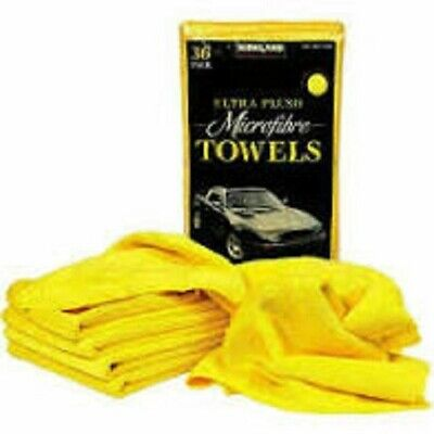 Kirkland Signature 40cm Ultra Plush Microfibre Towels/Soft Cloth - 1 Cloth
