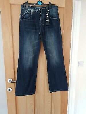(L) Beverley Hills Polo Club Mens Jeans 32 X 32 New With Labels