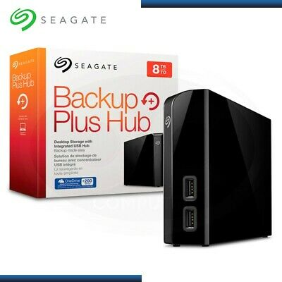 Seagate Stel8000100 Backup Plus Hub 8Tb External Desktop Hard Drive
