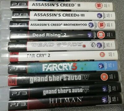 Playstation 3 Action Game Bundle x10 - Preowned - Fast Dispatch