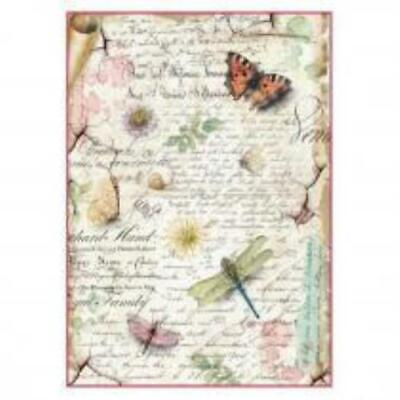 Rice Paper for Decoupage Scrapbook Crafting Letter Scripture 359