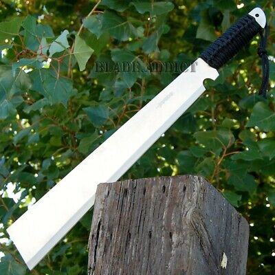 """20"""" Hunting Jungle Machete Knife Military Tactical Survival Sword -S"""