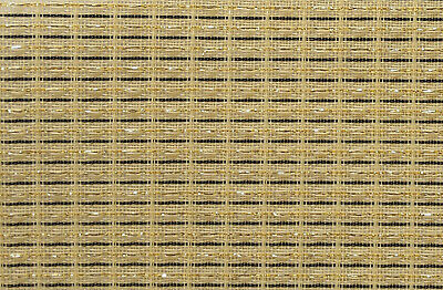 "Fender Beige Brown Gold Strip 30x58"" grill cloth fabric speaker cabinet"