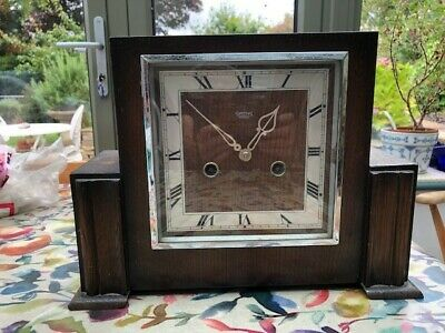 Vintage Smiths Enfield  Art Deco Mantle Clock