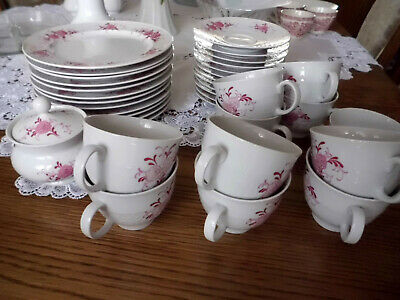 Tableware Serving Seltmann Weiden Annabell Rosa Blumen Kaffeegedeck 2tlg Home Furniture Diy Instituteoffinearts Co In