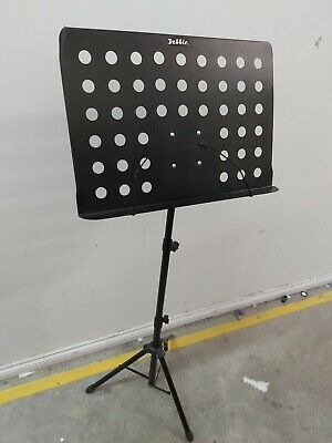 Professional Industry Standard Black Metal Music Stand Foldable 1A