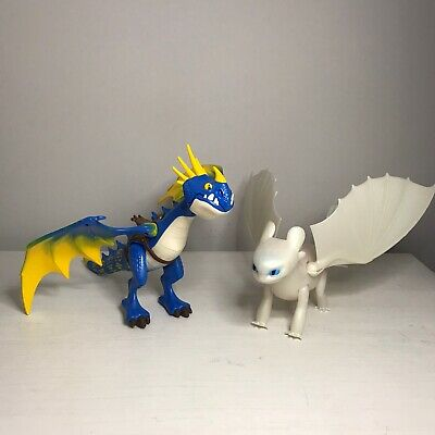 Playmobil How To Train Your Dragon Dragons Stormfly And Light White Fury Toys