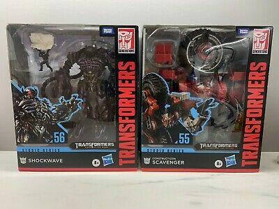 Transformers Studio Series Leader Class Shockwave #56 BRAND NEW /& FACTORY SEALED