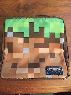 Minecraft Designed By Jinx Packed Lunch School Bag Box Zip Closure Insulated