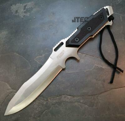 """12"""" Tactical Combat FULL TANG Survival Hunting Bowie Knife w/ Sheath"""