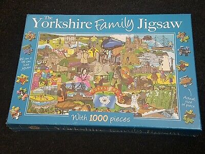 The Devon Family Jigsaw The Gifted Stationery Co 1000 Pieces
