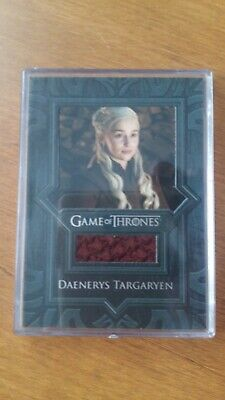 Game of Thrones Season 8 Relic card VR15 Daenerys