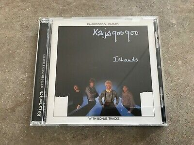 KAJAGOOGOO Uk Cd +Bonus Tracks ISLANDS Conditions EX