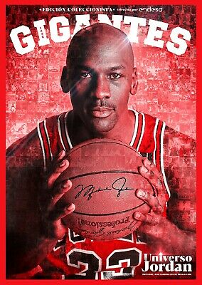 LIMITED!! MICHAEL JORDAN FULL SPECIAL 132 PAGES Gigantes del Basket Mag May 2020