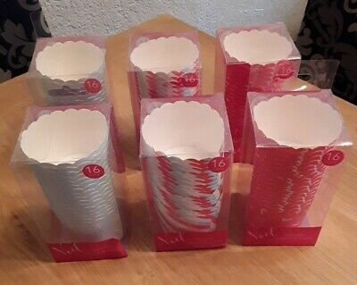 96 Round Muffin Cups, 3 Assorted Designs