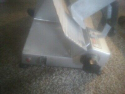 commercial electric meat slicer